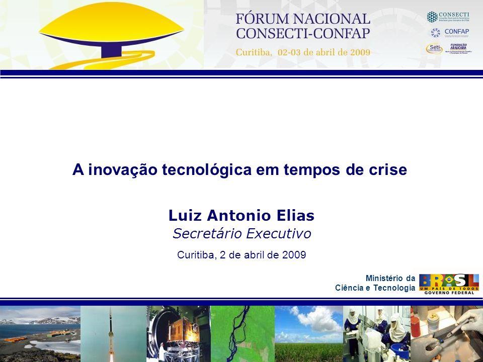 A inovação tecnológica em tempos de crise