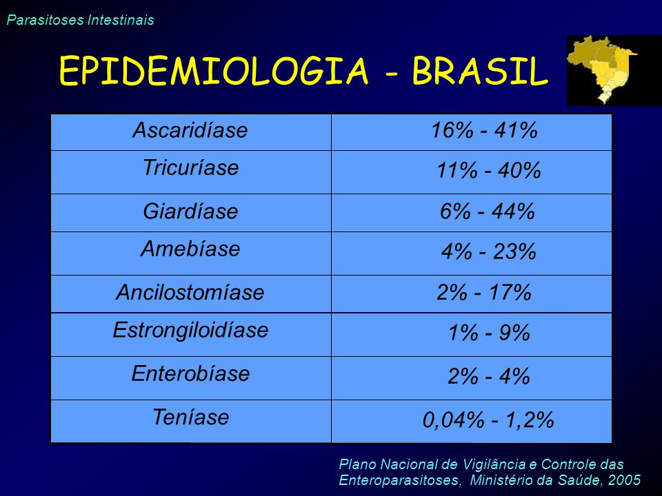 EPIDEMIOLOGIA - BRASIL