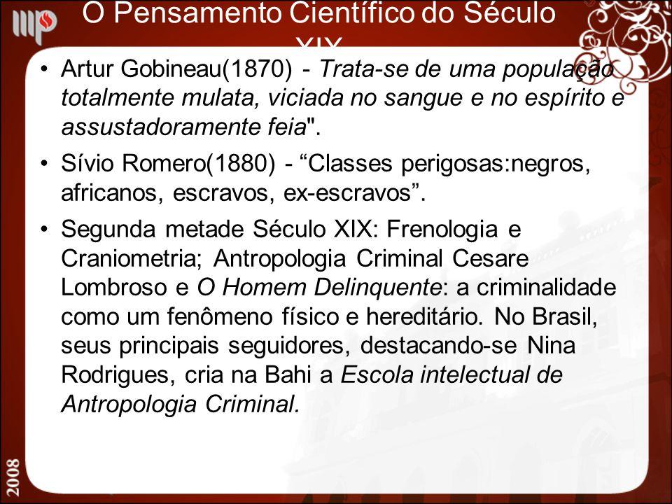 O Pensamento Científico do Século XIX