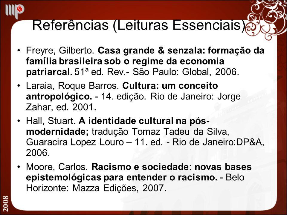 Referências (Leituras Essenciais)