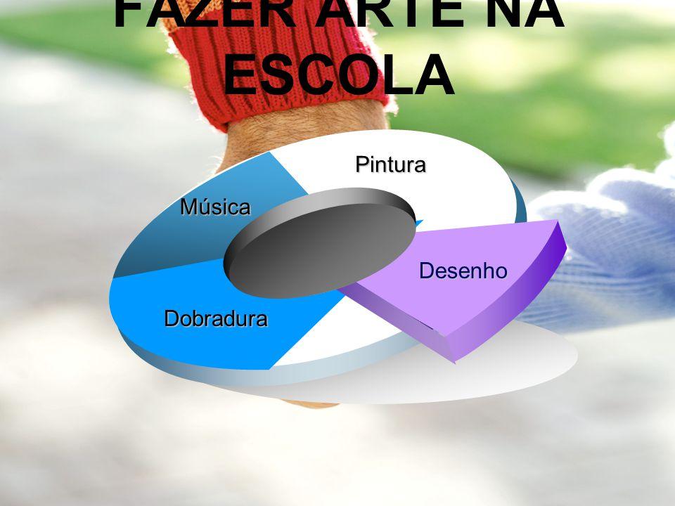 FAZER ARTE NA ESCOLA Pintura Música Desenho Dobradura