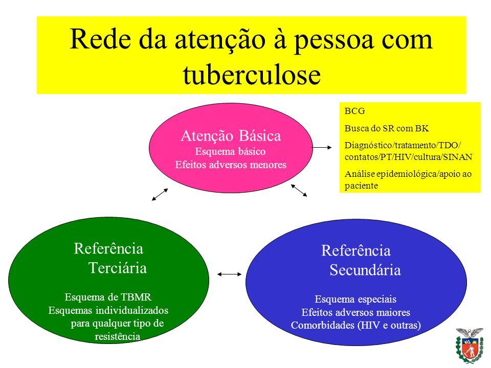 Rede da atenção à pessoa com tuberculose