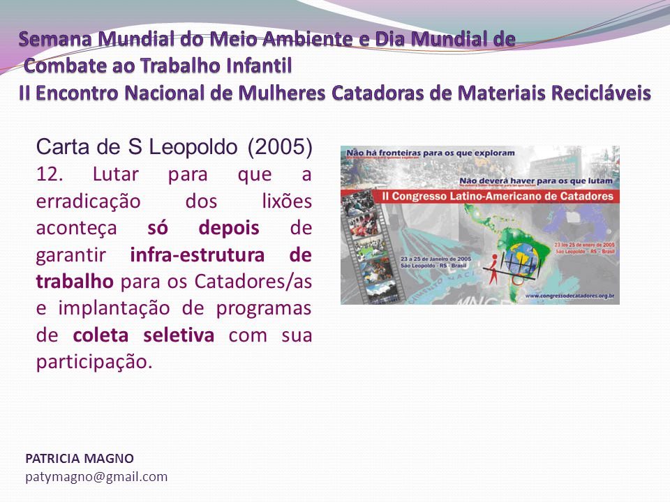 Carta de S Leopoldo (2005)