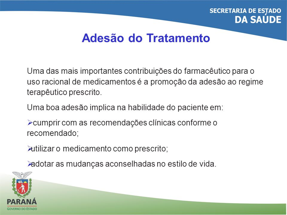 Adesão do Tratamento