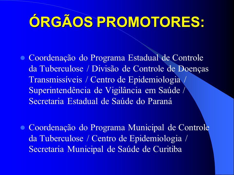 ÓRGÃOS PROMOTORES: