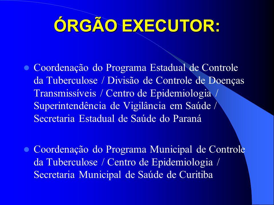 ÓRGÃO EXECUTOR: