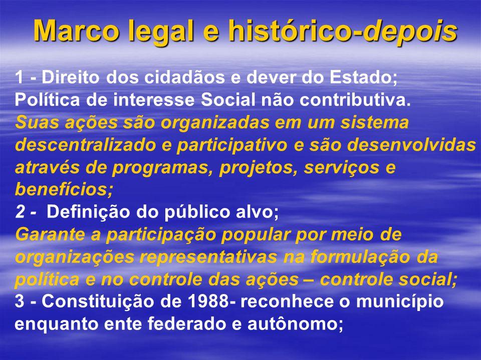 Marco legal e histórico-depois