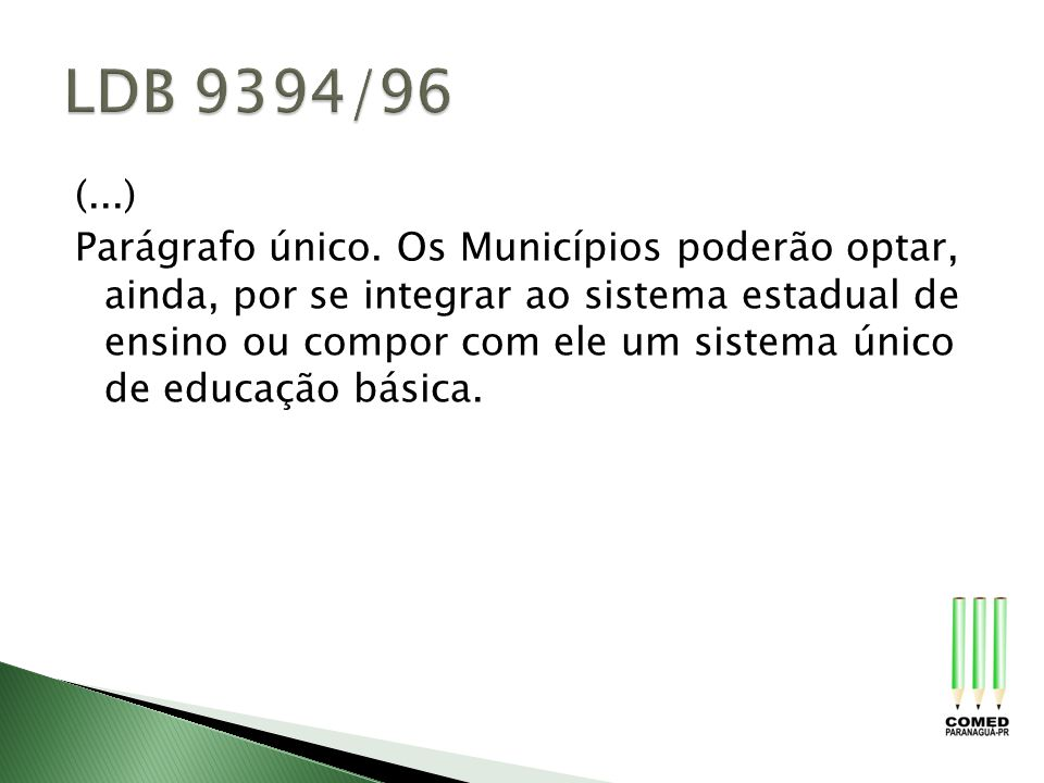 LDB 9394/96 (...)