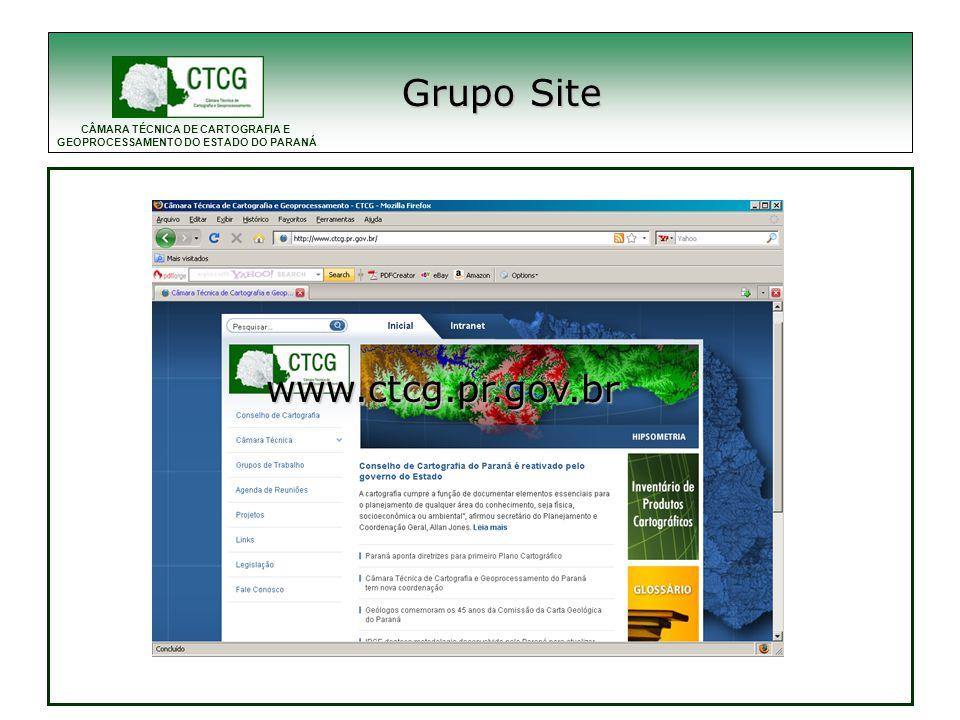 Grupo Site www.ctcg.pr.gov.br