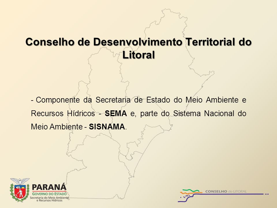 Conselho de Desenvolvimento Territorial do Litoral