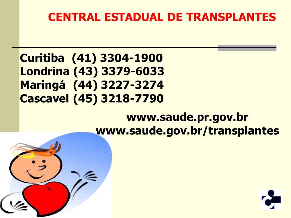 CENTRAL ESTADUAL DE TRANSPLANTES