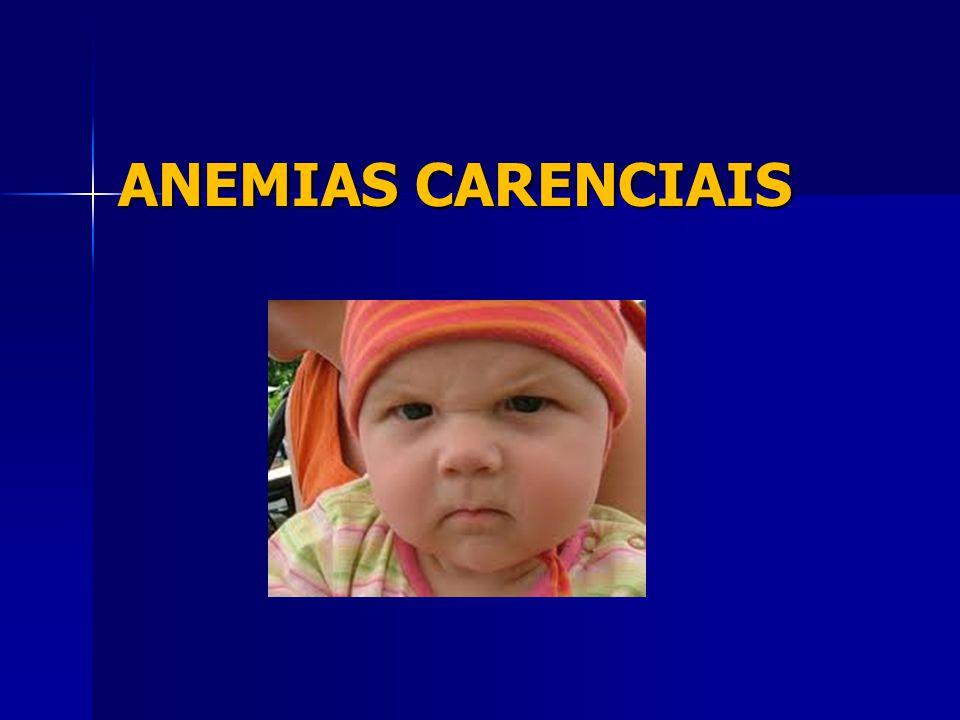 ANEMIAS CARENCIAIS