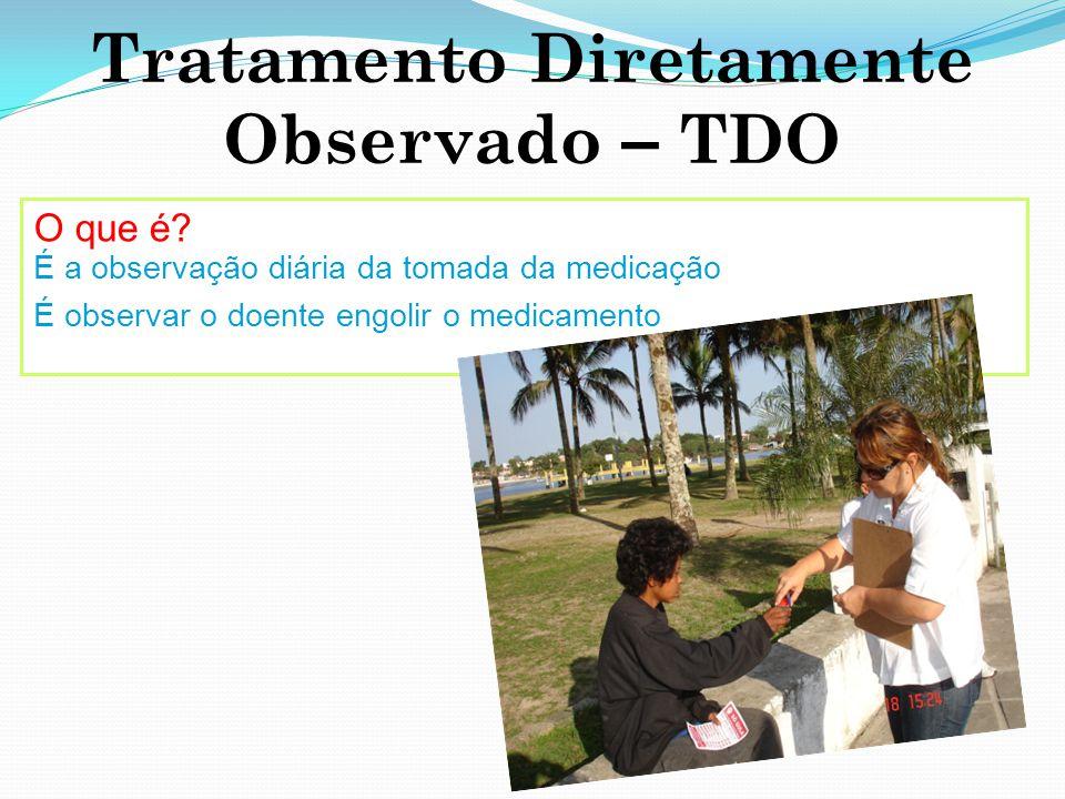 Tratamento Diretamente Observado – TDO