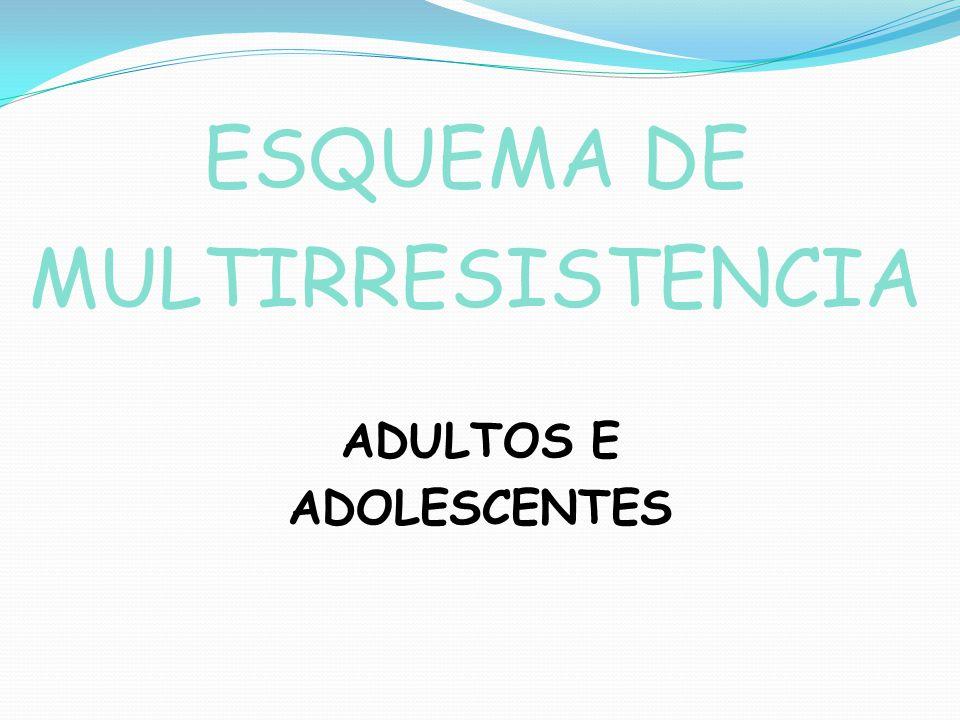 ESQUEMA DE MULTIRRESISTENCIA