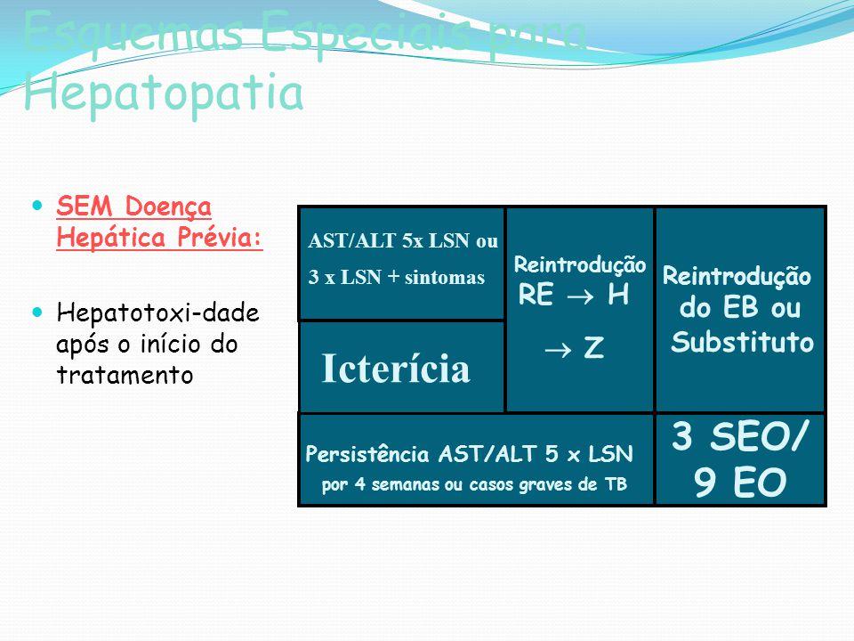 Esquemas Especiais para Hepatopatia