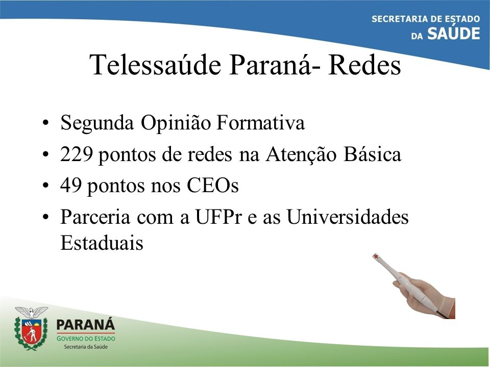 Telessaúde Paraná- Redes
