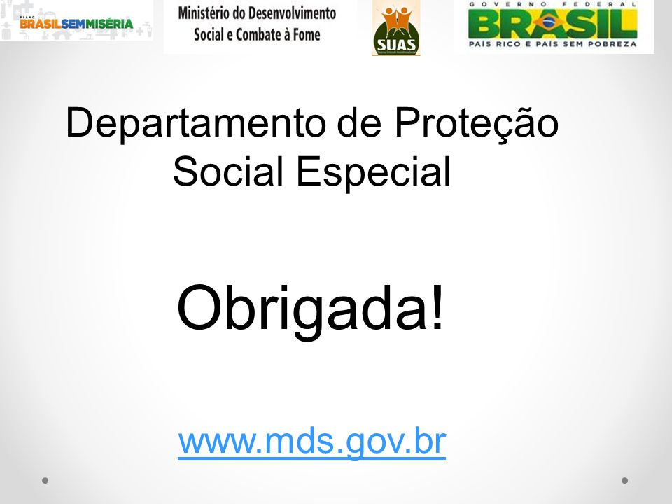 Departamento de Proteção Social Especial