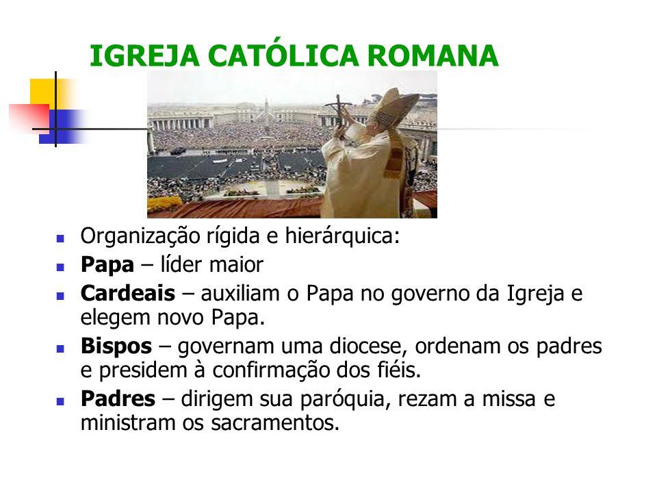 IGREJA CATÓLICA ROMANA