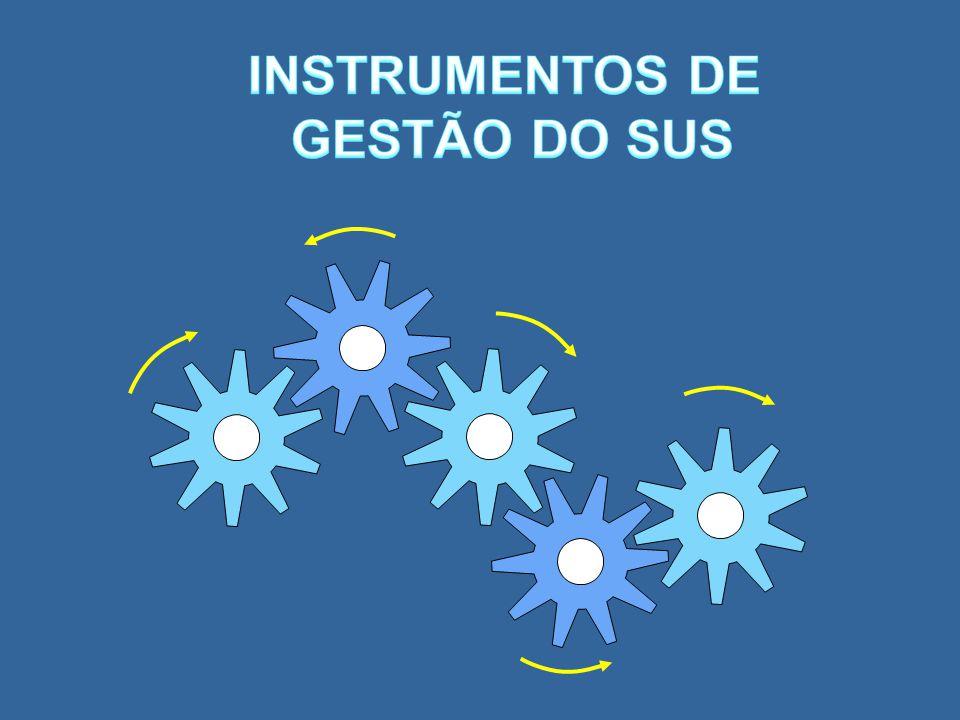 INSTRUMENTOS DE GESTÃO DO SUS