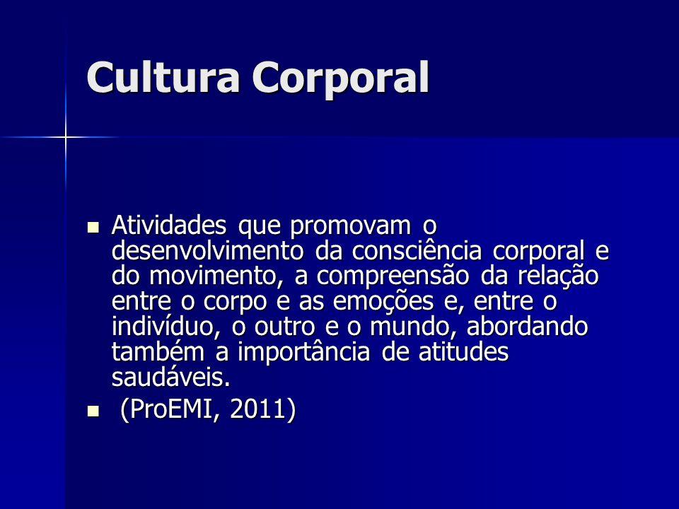 Cultura Corporal