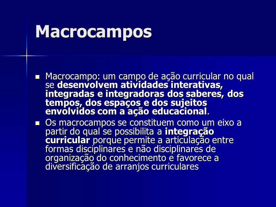 Macrocampos