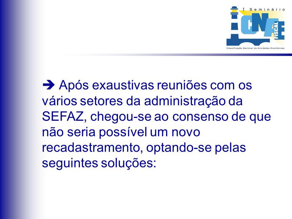 OBS.2: Foi de fundamental importância a ajuda da equipe do IBGE responsável pela CNAE-Fiscal, no trabalho da Tabela DE-PARA .