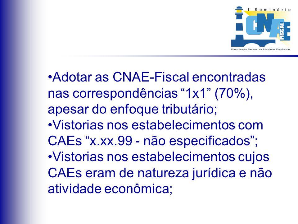  Após exaustivas reuniões com os vários setores da administração da SEFAZ, chegou-se ao consenso de que não seria possível um novo recadastramento, optando-se pelas seguintes soluções: