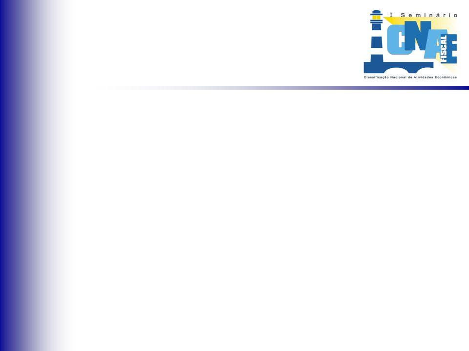 Maior comunicação e entrosamento entre os órgãos usuários da CNAE-Fiscal devido às reuniões para troca de informações e trabalhos conjuntos incentivados pela Subcomissão;