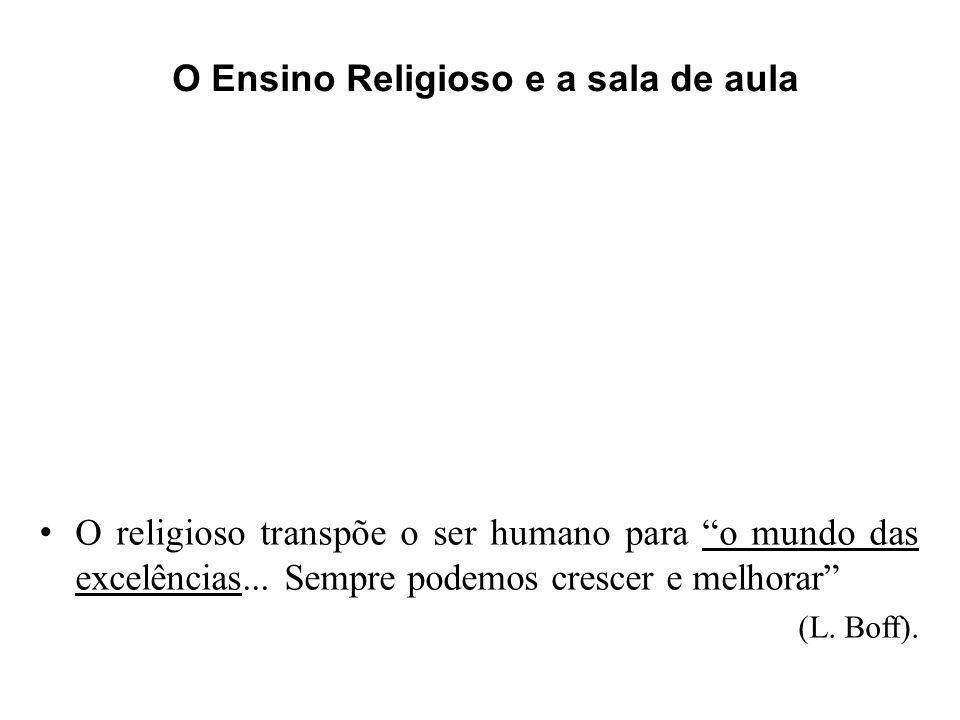 O Ensino Religioso e a sala de aula
