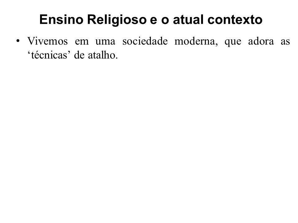 Ensino Religioso e o atual contexto