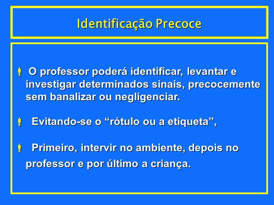 Identificação Precoce