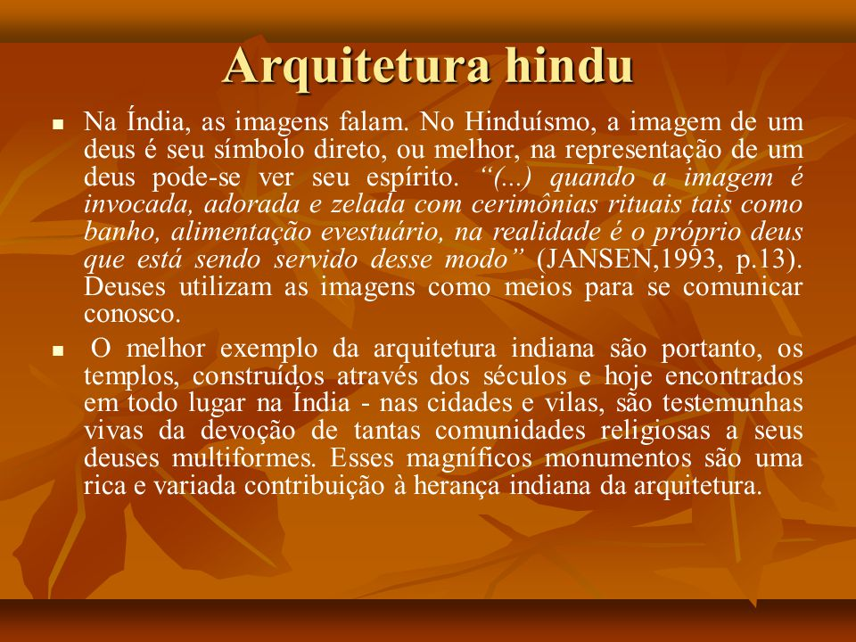 Arquitetura hindu