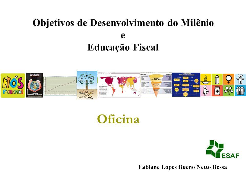 Oficina Objetivos de Desenvolvimento do Milênio e Educação Fiscal
