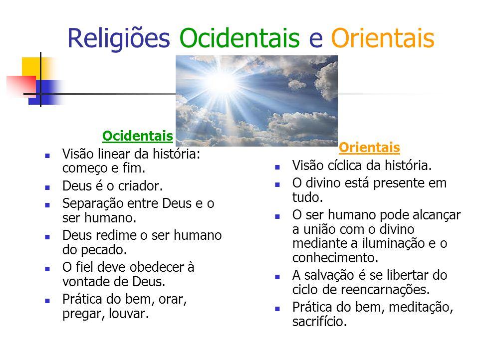 Religiões Ocidentais e Orientais
