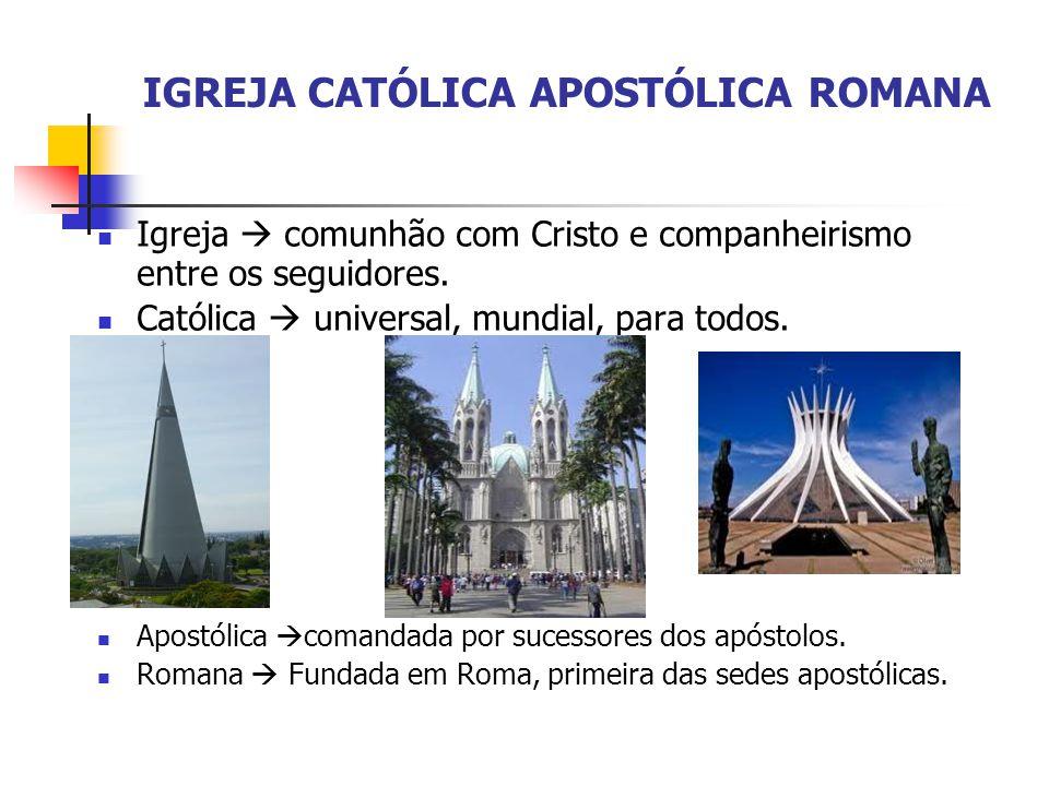 IGREJA CATÓLICA APOSTÓLICA ROMANA