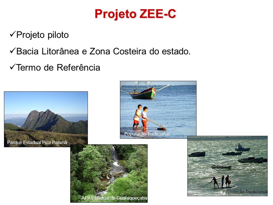 Projeto ZEE-C Projeto piloto