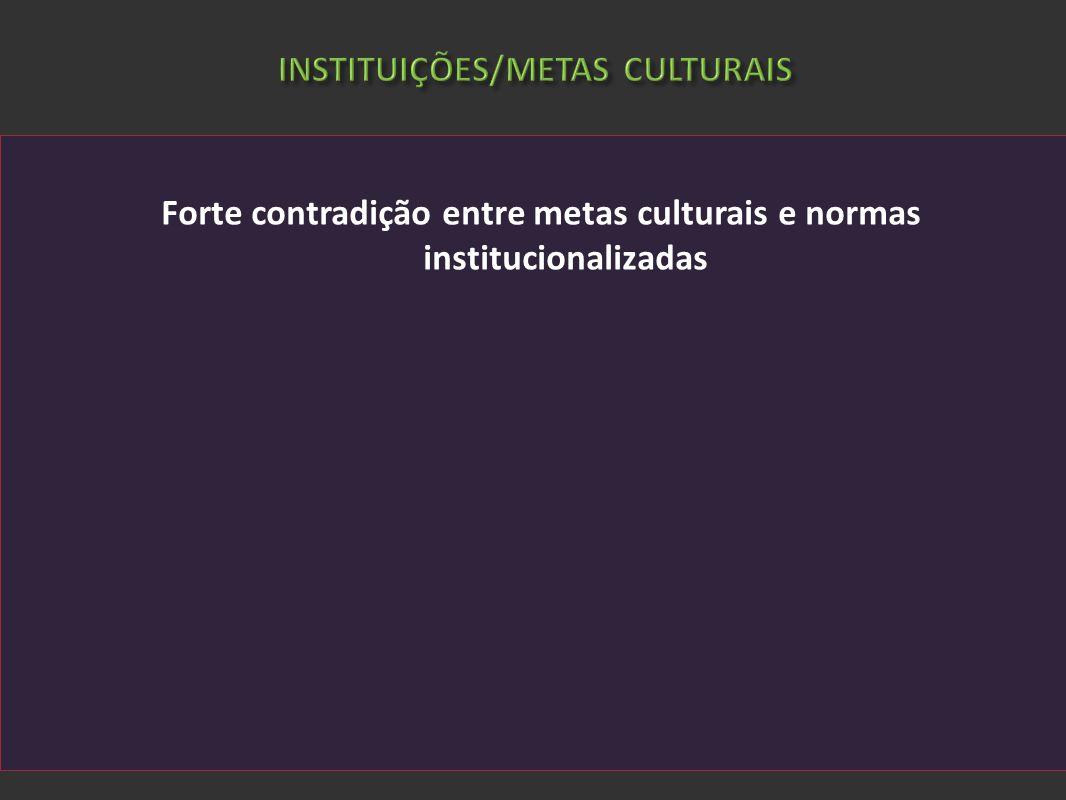 INSTITUIÇÕES/METAS CULTURAIS