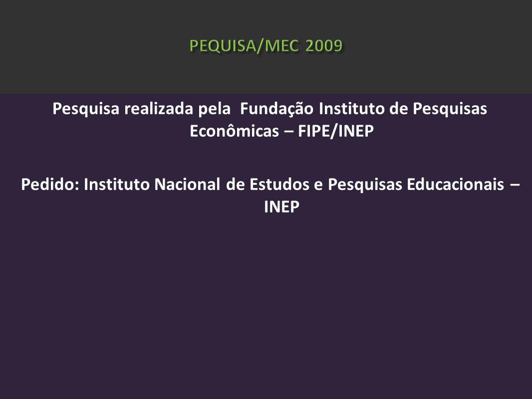 PEQUISA/MEC 2009