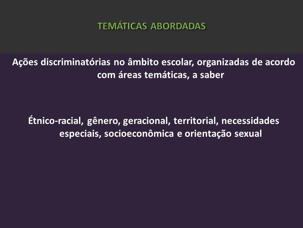 TEMÁTICAS ABORDADAS