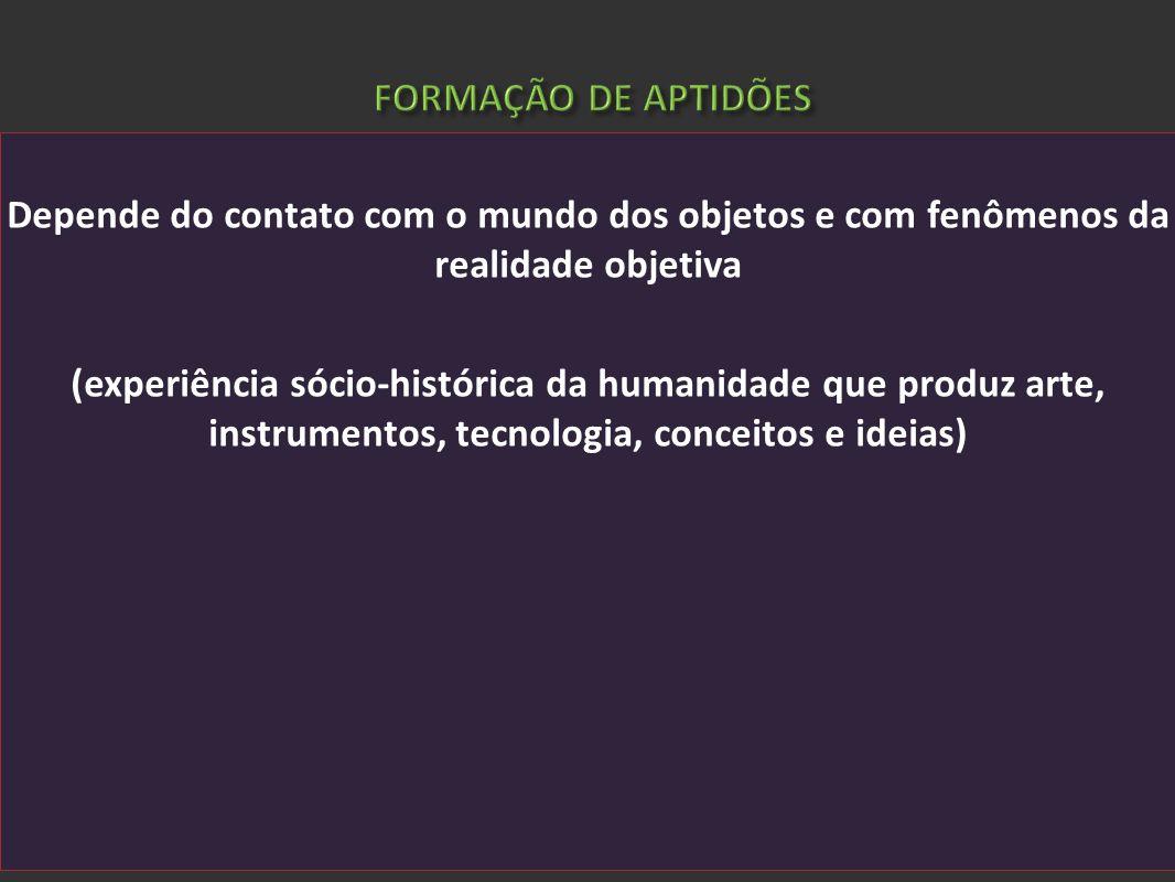 FORMAÇÃO DE APTIDÕES