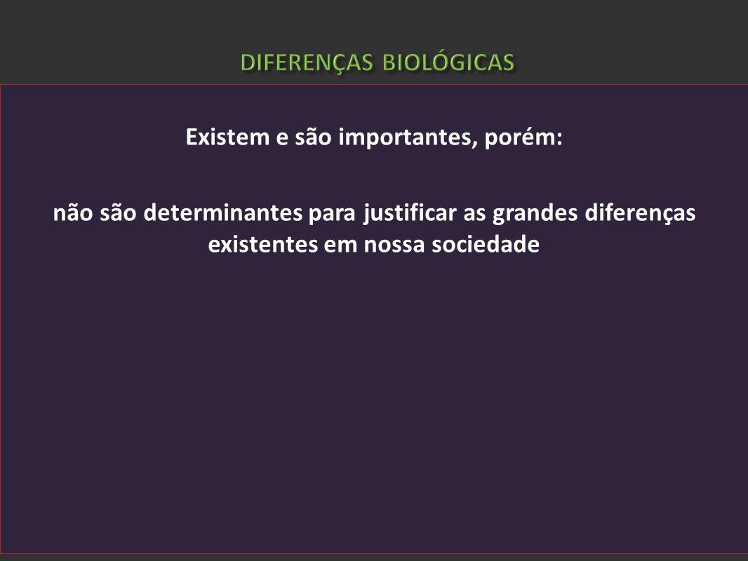 DIFERENÇAS BIOLÓGICAS
