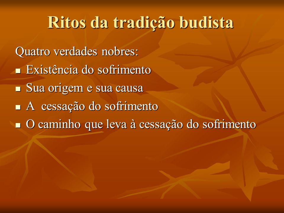 Ritos da tradição budista