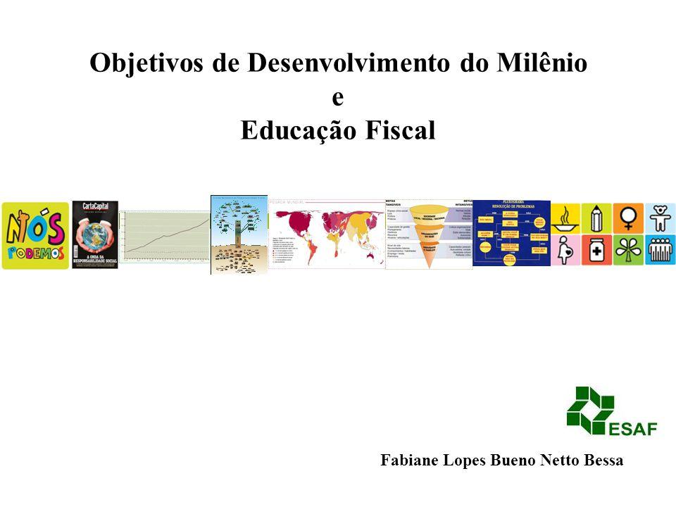 Objetivos de Desenvolvimento do Milênio e Educação Fiscal