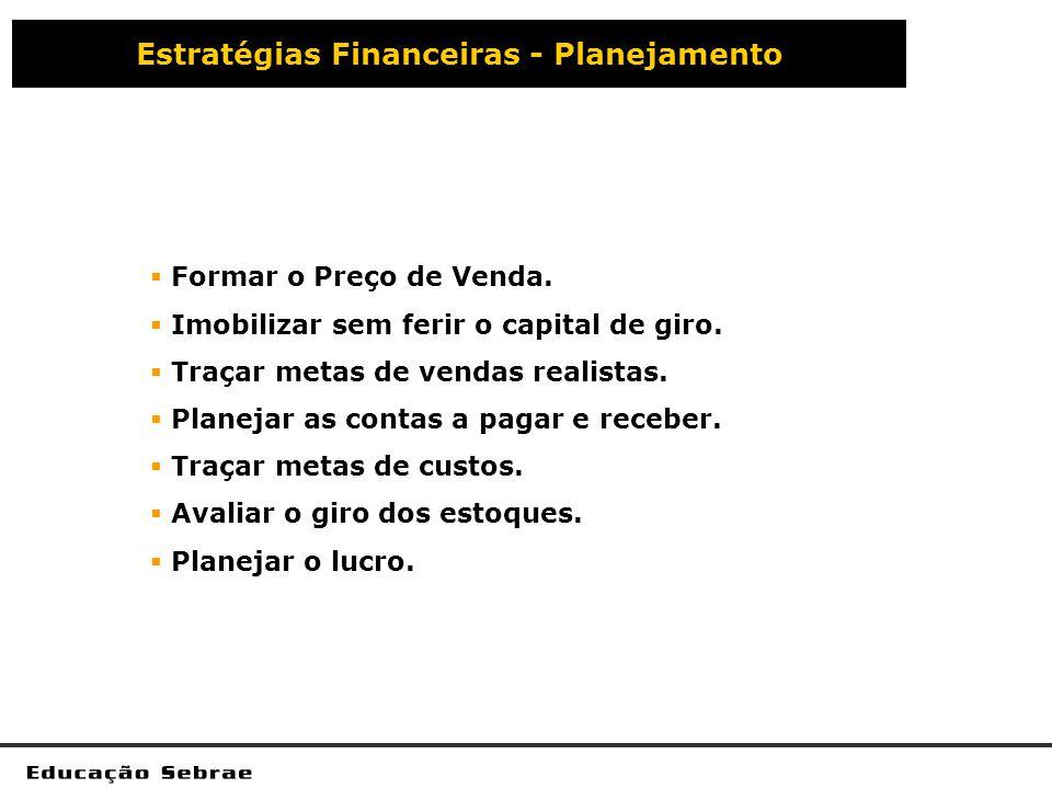 Estratégias Financeiras - Planejamento