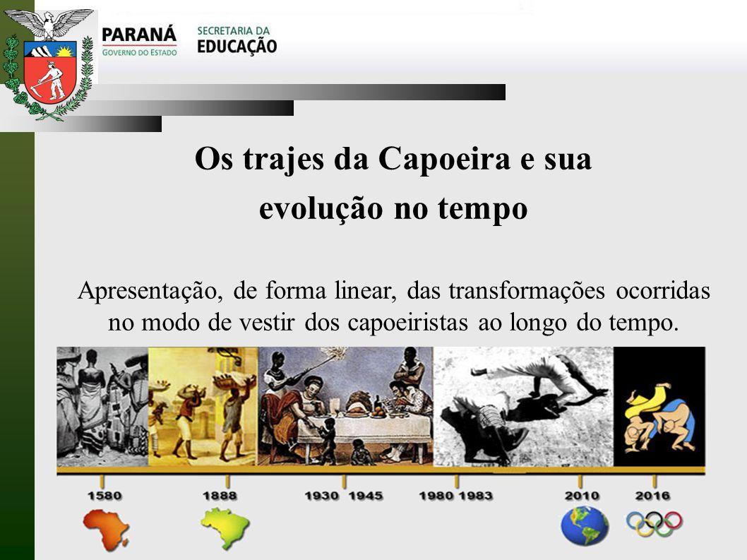 Os trajes da Capoeira e sua