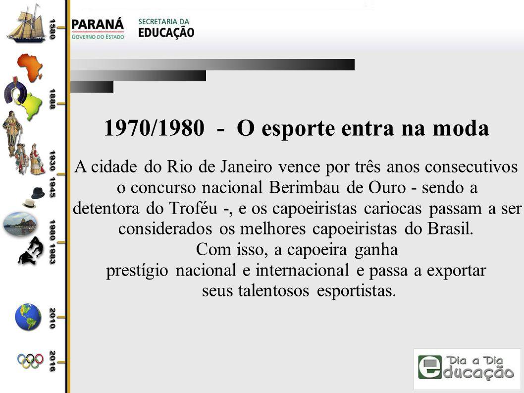 1970/1980 - O esporte entra na moda
