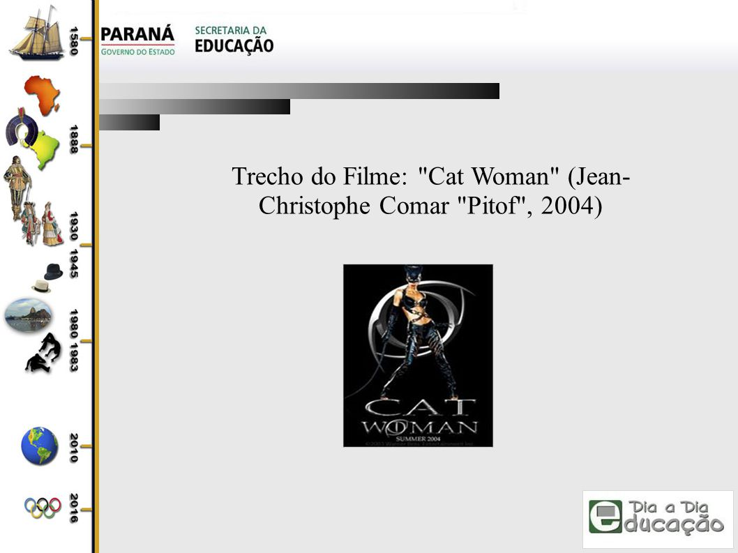 Trecho do Filme: Cat Woman (Jean-Christophe Comar Pitof , 2004)