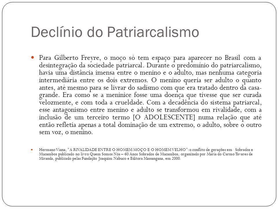 Declínio do Patriarcalismo