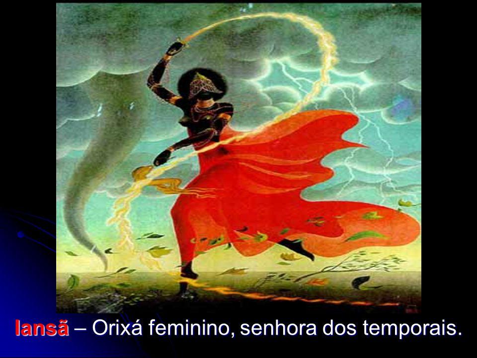 Iansã – Orixá feminino, senhora dos temporais.