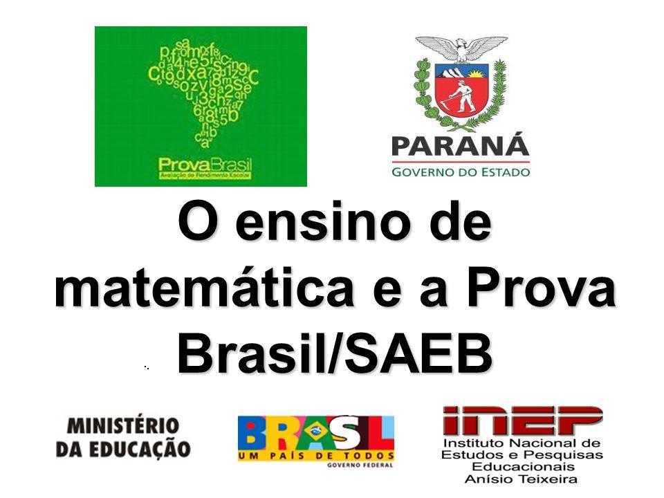 O ensino de matemática e a Prova Brasil/SAEB